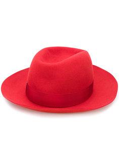шляпа с широкой лентой Borsalino