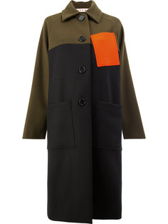 пальто колор блок  Marni