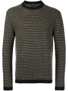 свитер с вышивкой Jil Sander