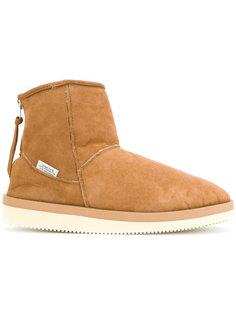 zipped snow boots Suicoke