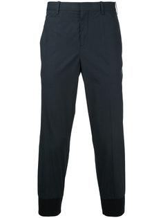 укороченные брюки с эластичными манжетами Neil Barrett