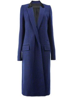 пальто с ломаную клетку  Haider Ackermann