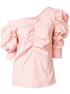 блузка с оборками  Isa Arfen