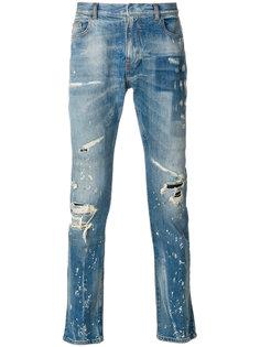 джинсы с эффектом краски Faith Connexion