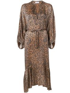 платье с узором пейсли Christian Wijnants