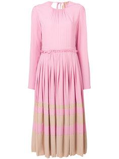 плиссированное платье Nº21