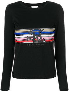 футболка с принтом с логотипом Sonia Rykiel