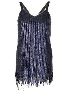 декорированное короткое платье Aviù
