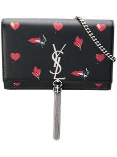 кошелек Classic Kate Monogram Bouche с кисточкой Saint Laurent