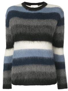 пуловер в полоску 8pm