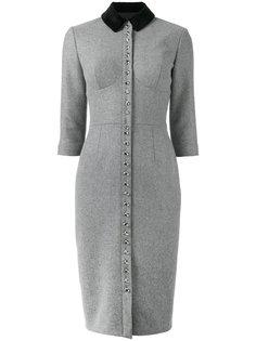 платье на пуговицах Olympia Le-Tan