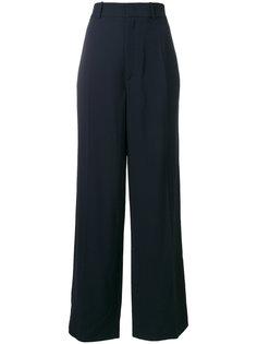 удлиненные широкие брюки Joseph