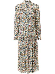 платье с цветочным принтом  Joseph