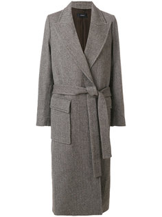 пальто с поясом Joseph