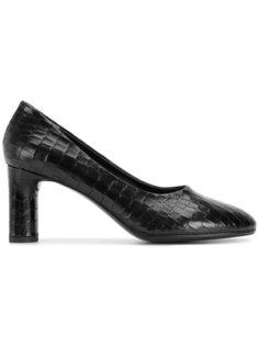 туфли на массивном каблуке Robert Clergerie