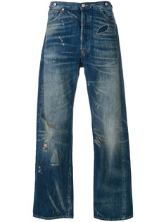 выцветшие джинсы Levis Vintage Clothing