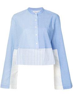striped button-down shirt Derek Lam 10 Crosby