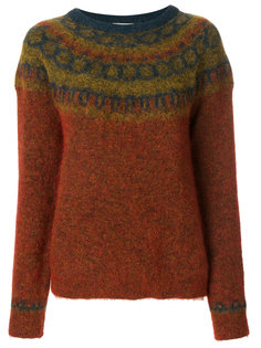 свитер с текстурированным узором Mes Demoiselles