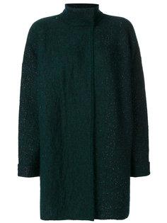 пальто с блестящим эффектом Indress