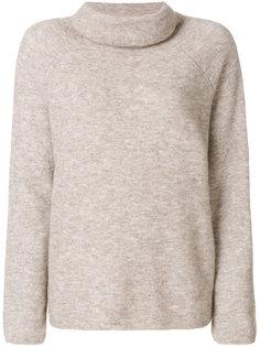 свободный свитер с высокой горловиной Mes Demoiselles