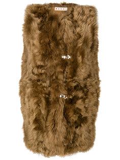 длинная куртка без рукавов Marni