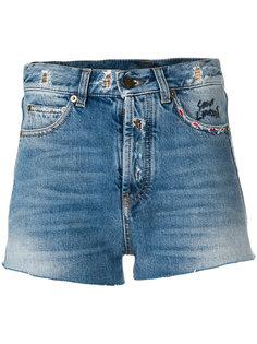шорты с вышивкой Saint Laurent