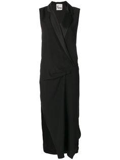 платье с V-образным вырезом  8pm
