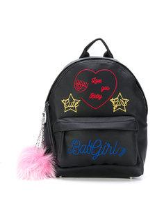 рюкзак с вышивкой Chiara Ferragni