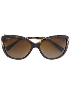 солнцезащитные очки в черепаховой оправе Bulgari