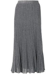 плиссированная юбка с блестками Missoni