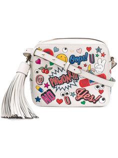 сумка с графическим принтом Anya Hindmarch