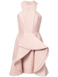 ruffled mini dress C/Meo