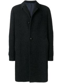 классическое однобортное пальто Mp  Massimo Piombo