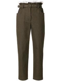 брюки с мешковатой талией  Isa Arfen