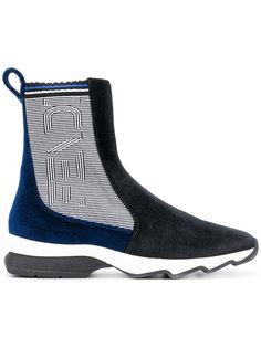 ботинки с панельным дизайном Fendi