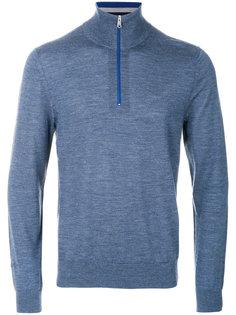 трикотажный пуловер с горловиной на молнии Paul Smith