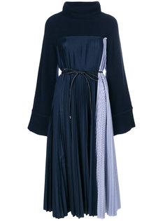 платье-джемпер со складками  Sacai