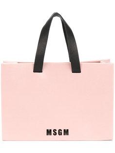 мини сумка-шоппер MSGM