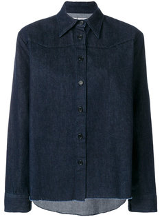 однотонная рубашка  Barena