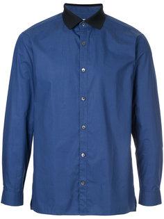 рубашка с контрастным воротником Cerruti 1881