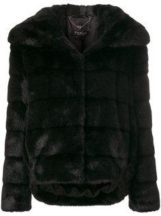 меховое пальто Twin-Set
