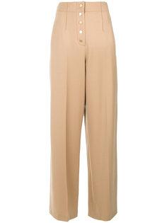 брюки с завышенной талией Stella McCartney