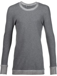 свитер с круглым вырезом  Boris Bidjan Saberi