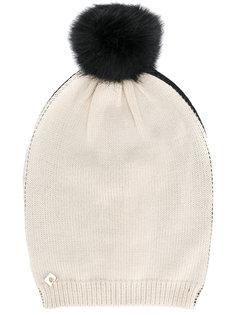 шапка с помпоном Twin-Set