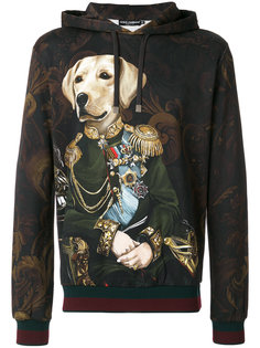 толстовка Royal Pet Portrait с капюшоном Dolce & Gabbana