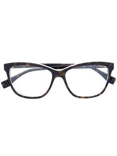 """очки с оправой """"кошачий глаз"""" Fendi Eyewear"""