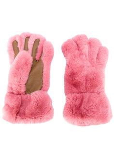 меховые перчатки Marni