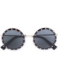 солнцезащитные очки в круглой оправе Valentino Eyewear