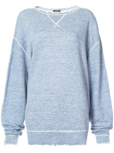 raw edges sweatshirt R13