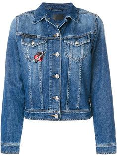 укороченная джинсовая куртка  Philipp Plein